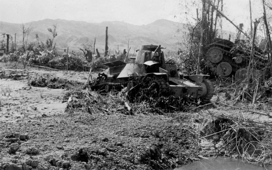 Tanks at Ningthoukhong